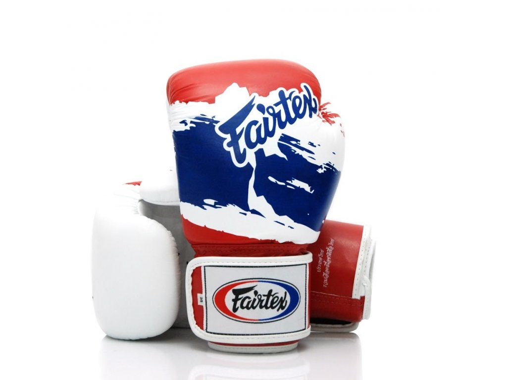 Boxerské rukavice Fairtex rukavice BGV1 - Thai Pride