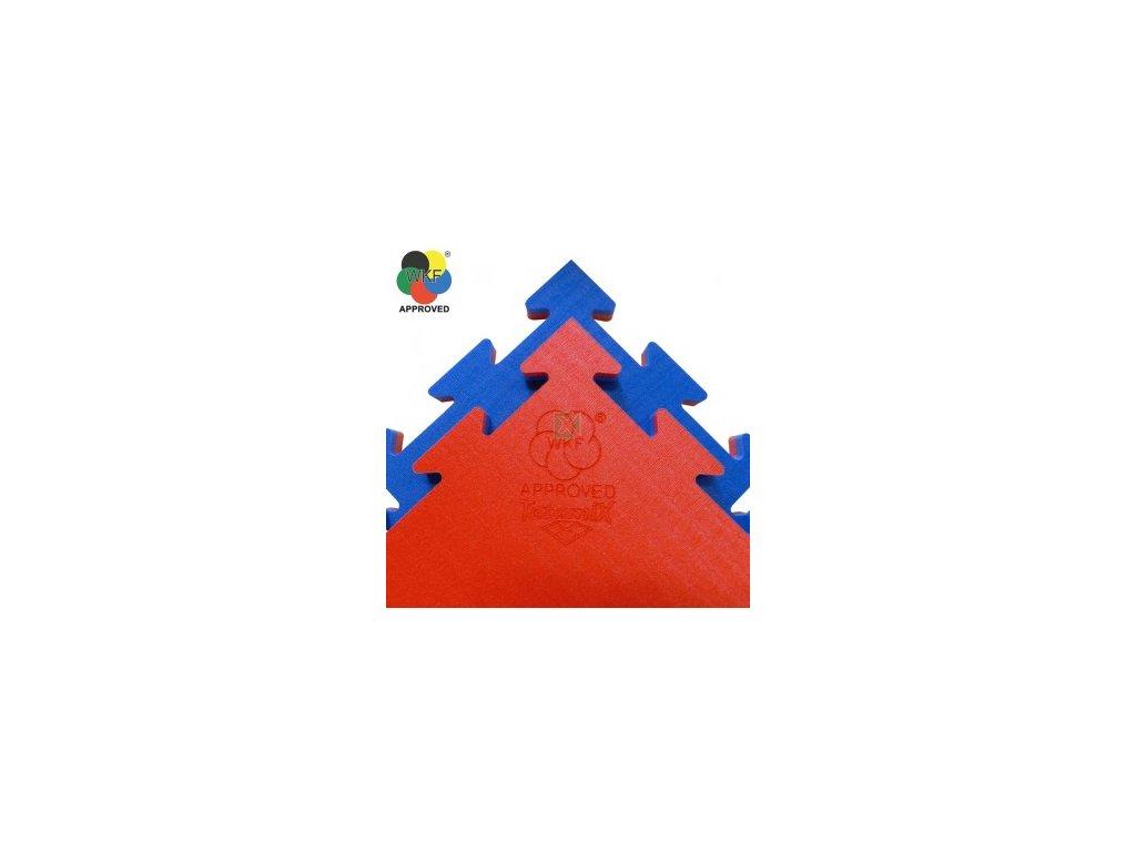 TATAMIX tatami WKF Approved - červená/modrá