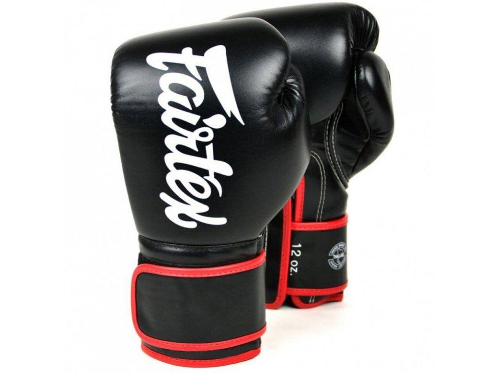 Boxerské rukavice Fairtex BGV14 - černá barva