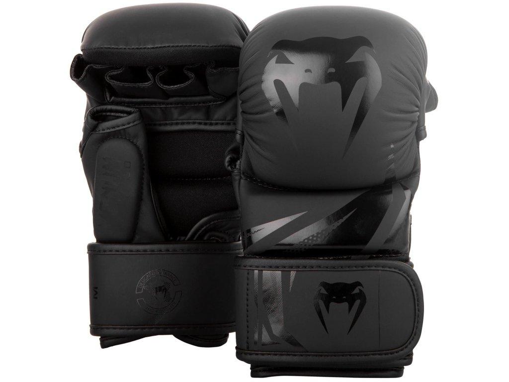 MMA rukavice Venum Challenger 3.0 černá barva černé logo