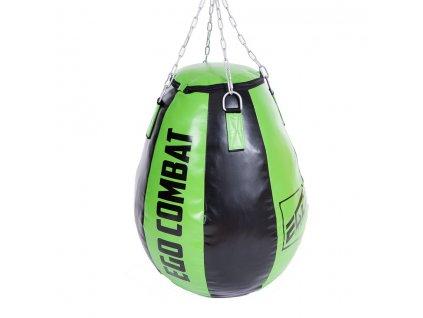 Velká boxovací hruška Ego Combat Endurance v zeleno-černé barvě