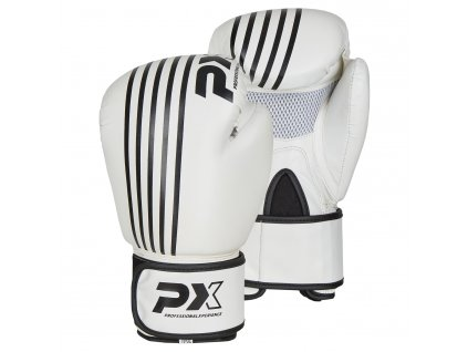 Boxerské rukavice Phoenix - bílá/bílá barva