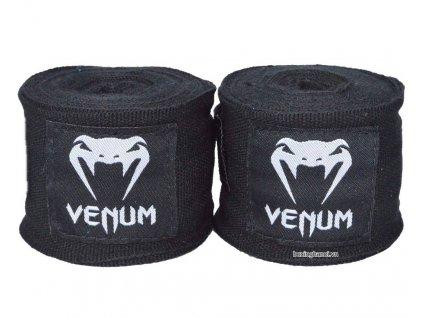 Bandáže na ruce Venum Kontact Boxing - černá barva