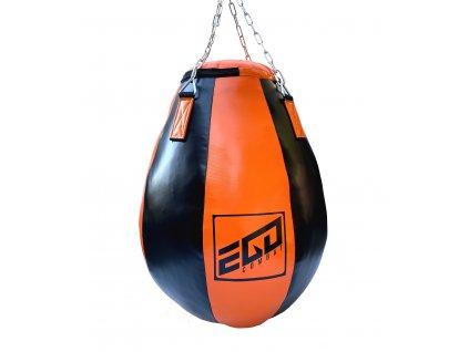 Velká boxovací hruška Ego Combat Endurance v černo-oranžové barvě