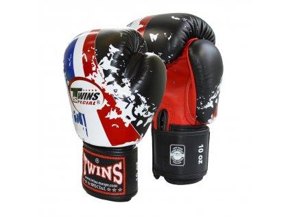 Boxerské rukavice TWINS BGVL-3 - trikolora