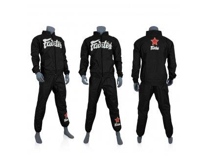 Fairtex sauna oblek - černá