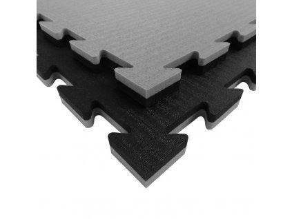 TATAMIX tatami puzzle 2 cm - černá/šedá