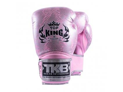 Top King boxerské rukavice TKBGSS-02 Super - růžová