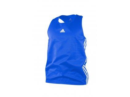 adidas boxerské tílko ADIBTT02 - modré