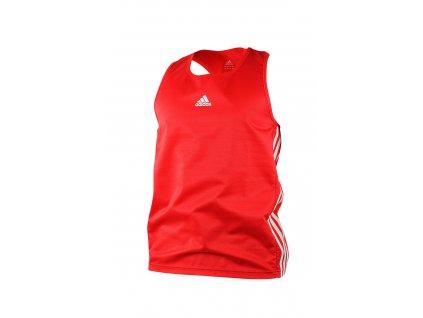 adidas boxerské tílko ADIBTT02 - červené