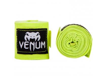 Venum bandáže na ruce Kontact 4m - neon žlutá