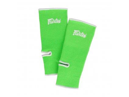 Chrániče kotníků Fairtex AS1 - neon zelená