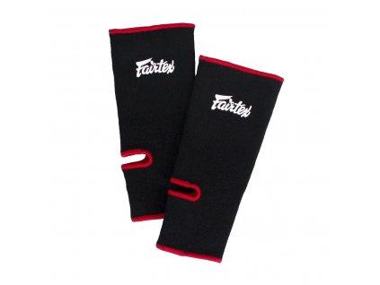 Chrániče kotníků Fairtex AS1 - černá/červená