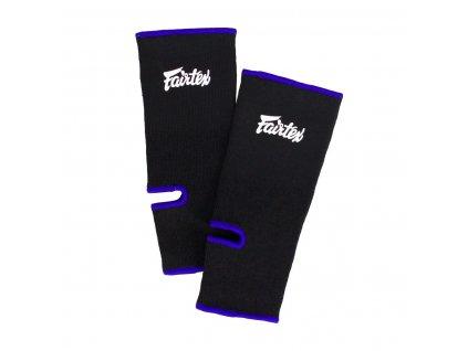 Chrániče kotníků Fairtex AS1 - černá/modrá