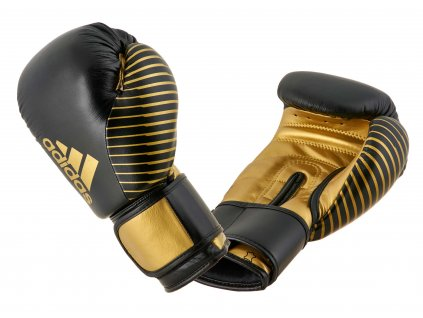 adidas boxerké rukavice adiKBWKF200 - černá/zlatá