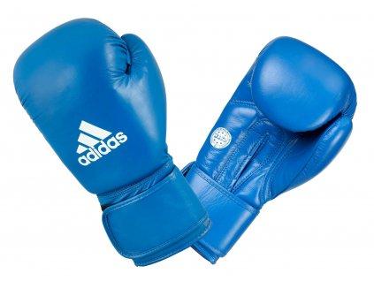 adidas boxerké rukavice WAKO syntetická kůže - modrá