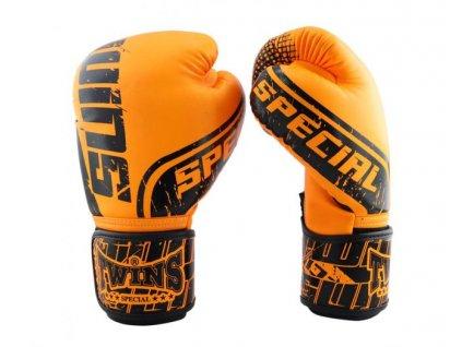 Twins Boxerské  Rukavice FBGVS12-TW7 - oranžová/černá