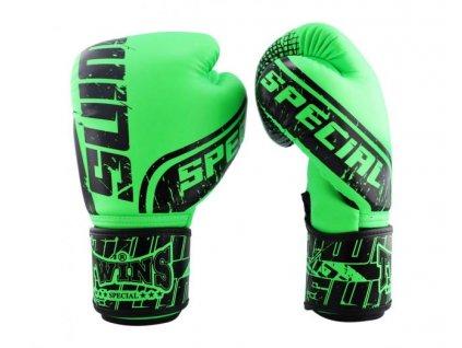 Twins Boxerské  Rukavice FBGVS12-TW7 - zelená/černá