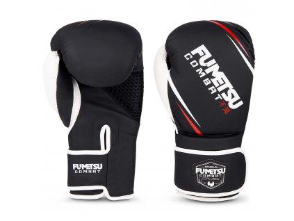 Fumetsu boxerské rukavice Shield - černá/bílá