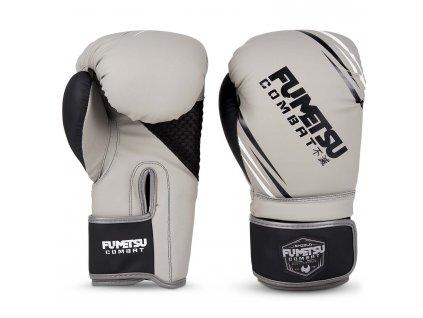 Fumetsu boxerské rukavice Shield - šedá/černá
