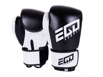 Boxerské rukavice Ego Combat Endurance - černá/bílá