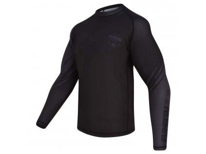 Fumetsu rash guard Shield dlouhý rukáv - černá/černá