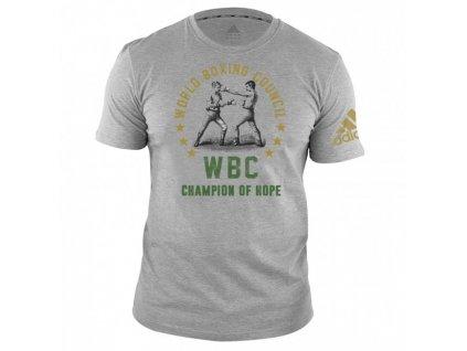 adidas WBC triko Champ adiWBCT01 - šedá