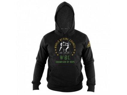 adidas mikina WBC Boxing Heritage adiWBCH01 - černá