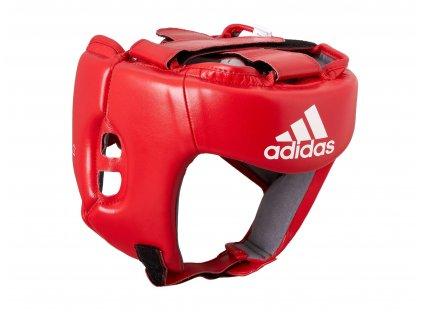 adidas soutěžní přilba AIBA AIBAH1- červená