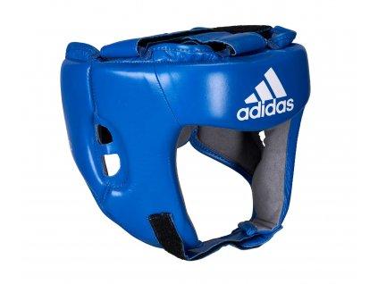 adidas soutěžní přilba AIBA AIBAH1- modrá