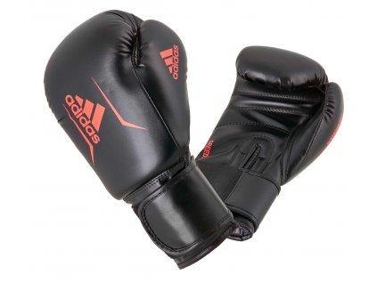 adidas boxerké rukavice Speed 50  - černá/červená