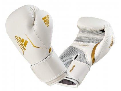 adidas boxerké rukavice Speed 100  ADISBG100 - bílé