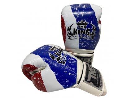 Top King boxerské rukavice TKBGFV Thailand -