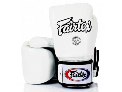 Boxerské rukavice Fairtex BGV1 - bílá barva