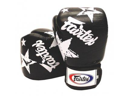 Boxerské rukavice Fairtex  BGV1 - Nation Print černá barva