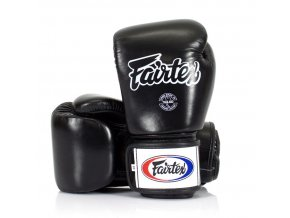 fairtex boxerske rukavice bgv1 cerna 10oz