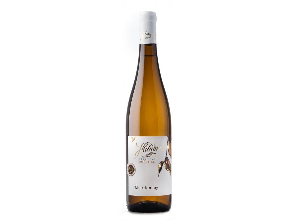 Chardonnay 0,75l jakost.suché Habřina