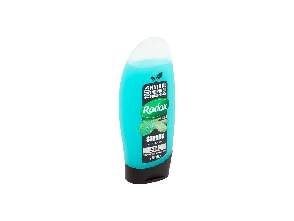radox men feel strong 2v1 sprchovy gel 250 ml l