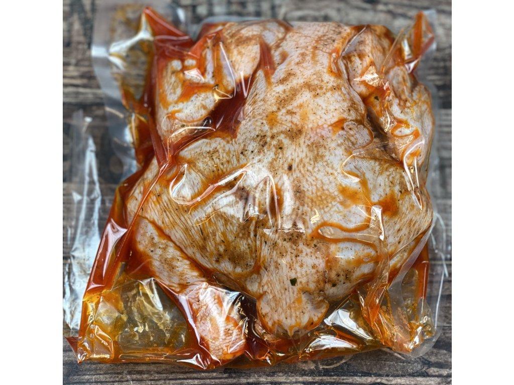 Kuře celé marinované na grill 1,4kg