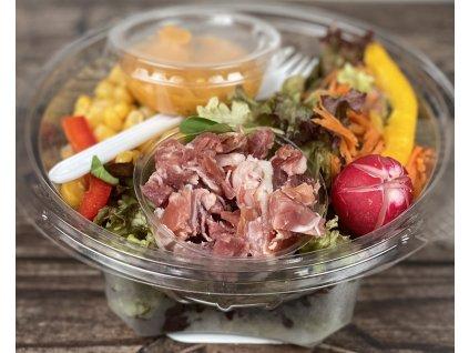Zeleninový salát s prosciutto crudo