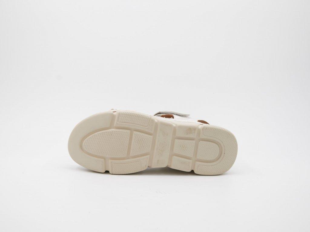 Bílé sandály Smeralydia