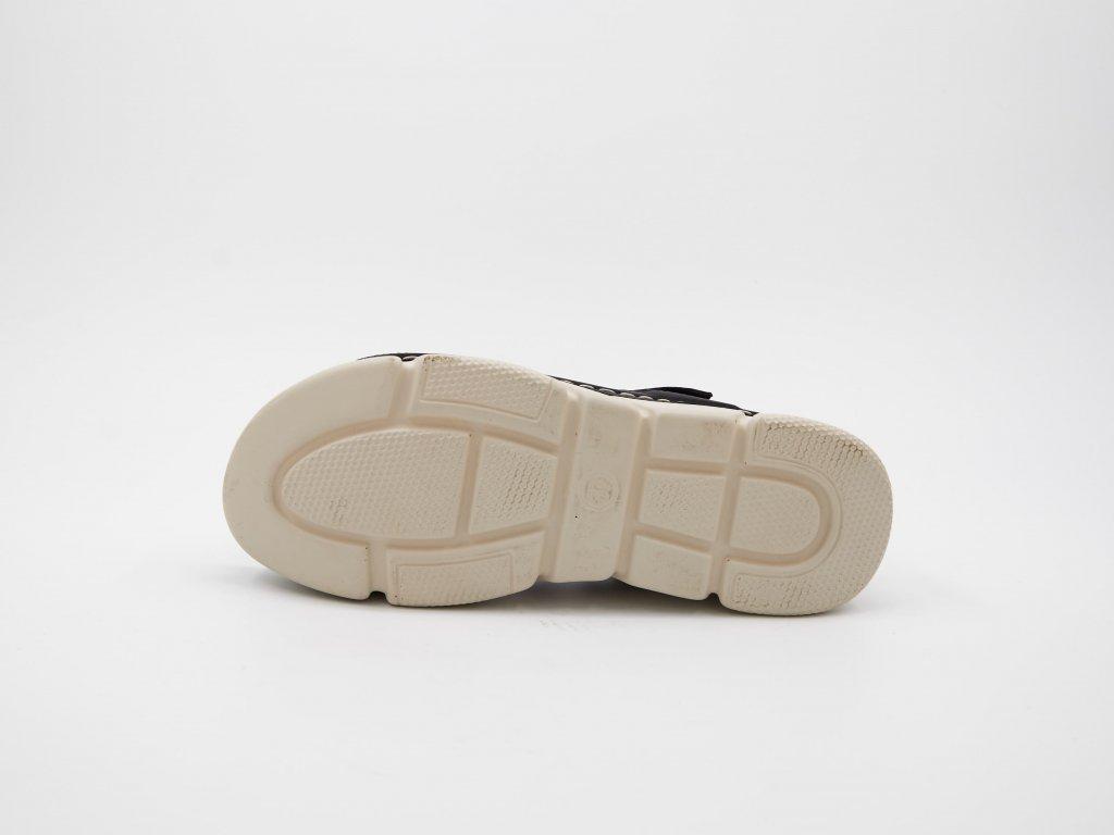 Černá sandály Smeralydia
