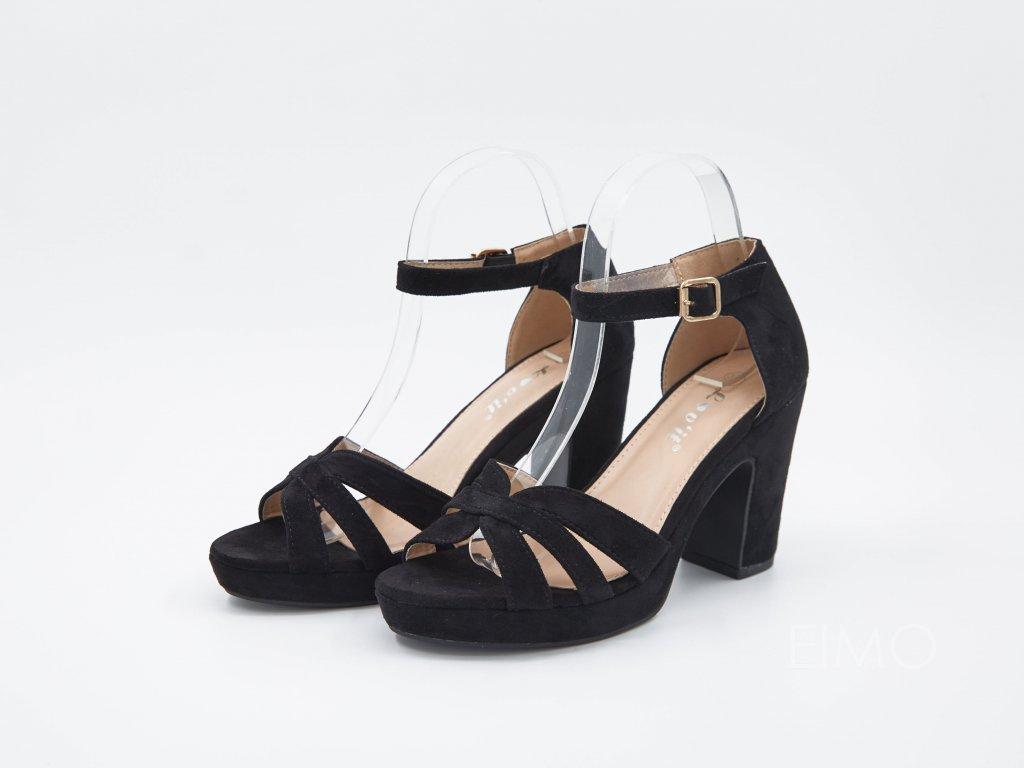 Sandály na vysokém podpatku Mivea