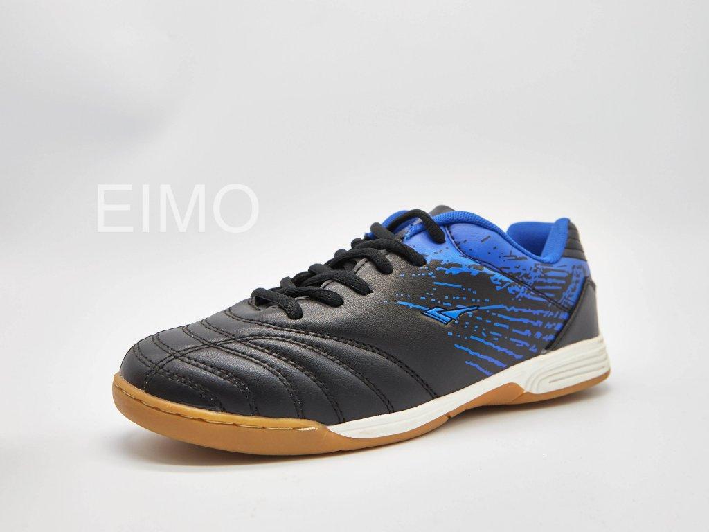 Černo-modrá pánská sálová obuv Nerona