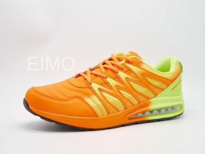 Oranžovo-žlutá pánská sportovní obuv Tamarine