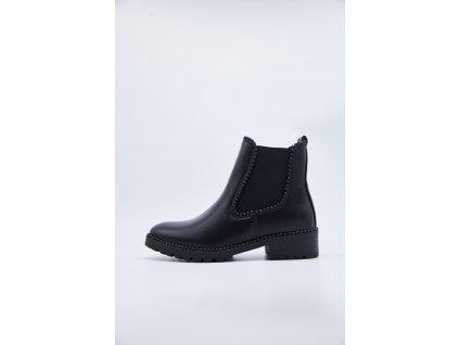 Dámské kotníkové boty Edna - vnější strana