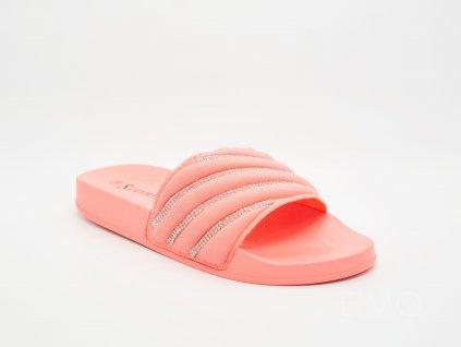 Dámské pantofle růžové