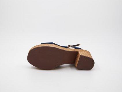 Dámské sandály modrá Loparna
