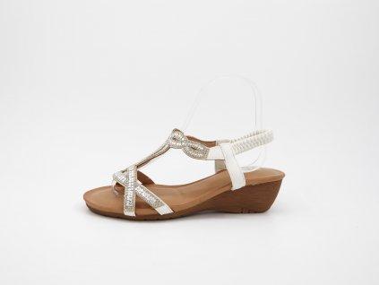 Bílé sandály Eriich