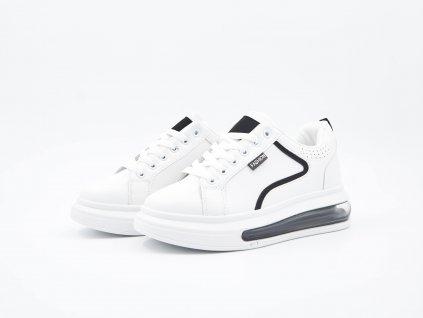 Bíle Sneakersy JumpyHop - pár